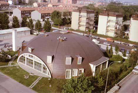 copertura a cupola copertura canile paderno dugnano aci coperture dei