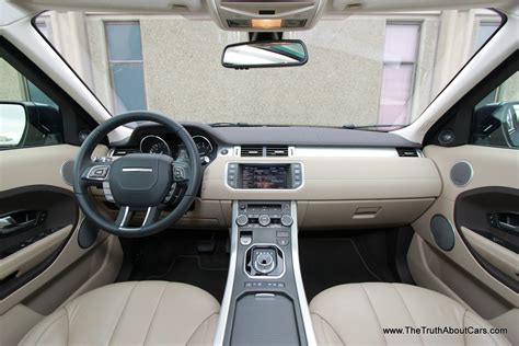 2013 land rover range rover evoque interior dashboard