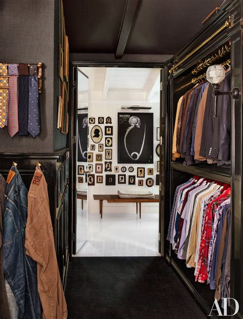 Closet Husband by Will S Walk In Closet Dressing Room Features Black Lacquer