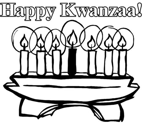 Holiday Coloring Pages Christmas Hanukkah And Kwanzaa Kwanzaa Coloring Pages