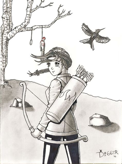 libro the hanging tree the thg katniss everdeen by pdm digger on