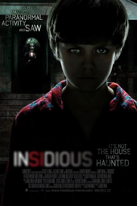 insidious movie director insidious 2011 poster 1 trailer addict