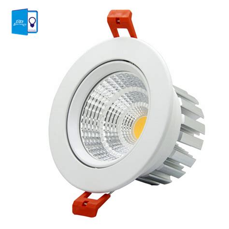 Downlight Spot Indc400 9w aliexpress buy high quality epistar led cob recessed downlight dimmable 6w 9w 12w 20w led