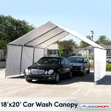 car wash awnings 18x20 car wash canopy