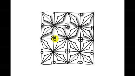 zentangle pattern youtube zentangle pattern tutorial holly youtube