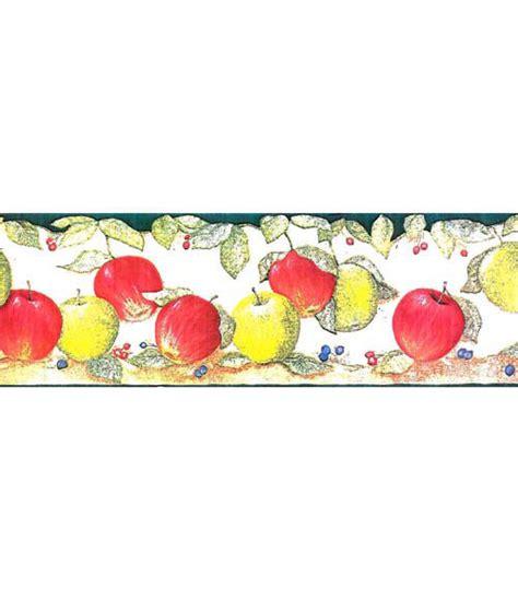 cenefas de cocina cenefas de vinilo para cocinas manzanas vd ref 15629782