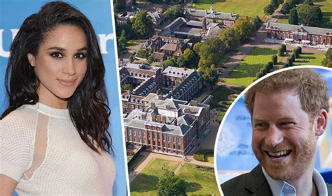 prince harry could move into lovely big kensington prince harry and meghan markle s love nest in princess