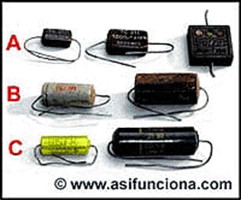capacitor no polarizado que es capacitor no polarizado 28 images ficha y cables twistters bala capacitor y