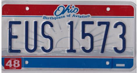Ohio Bmv Vanity Plates by Ohio License Plates