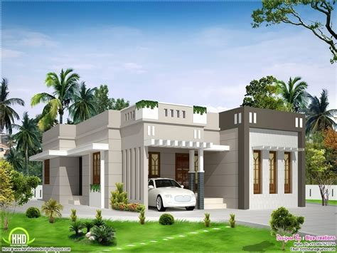 front elevations of indian economy houses single floor house plans and elevations
