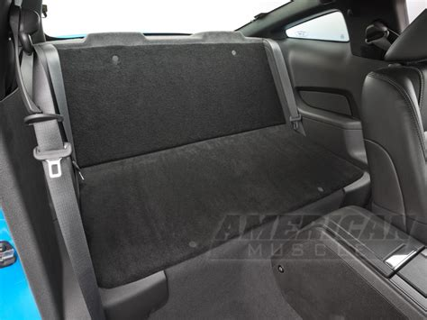 mustang rear seat delete kit question for those with rear seat delete kit the mustang