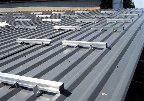 was heißt dach auf englisch montage auf trapezdach solar montagesysteme und