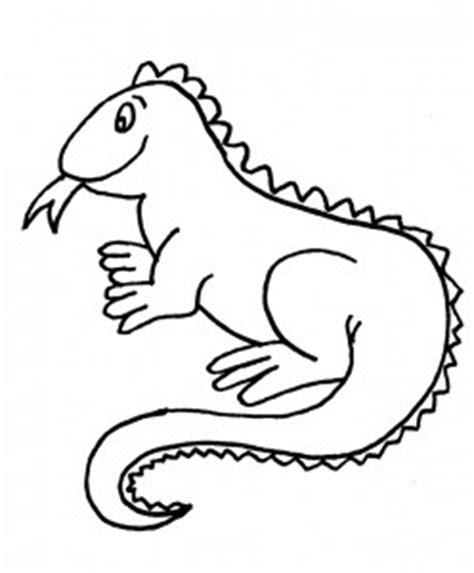 Imagenes Para Pintar Iguana | iguana para colorear dibujos de iguanas para pintar