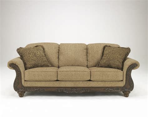 ashley couch 3940138 ashley furniture cambridge amber sofa steele s