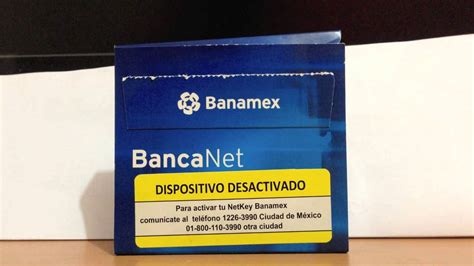 banamex bancanet c 243 mo activar netkey de banamex e ingresar a banca