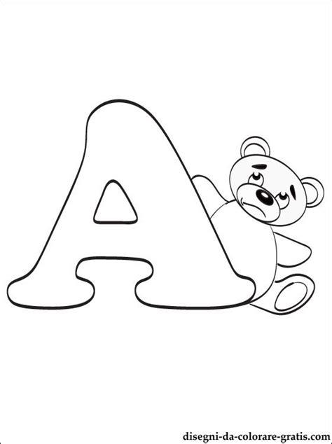 lettere dell alfabeto da colorare e stare lettera a disegni da colorare disegni da colorare gratis