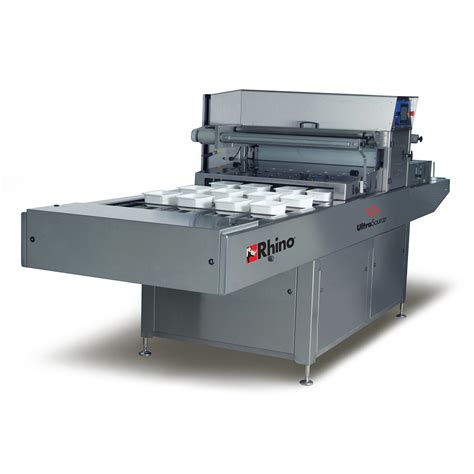 Modified Atmosphere Packaging Cost by Rhino 12 Automatic Food Tray Sealing Machine With Optional