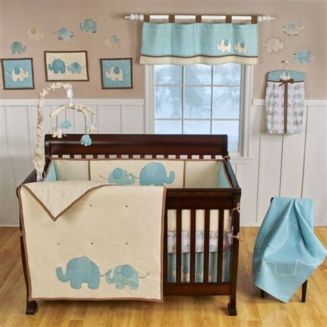 17 Best Images About Elephant Theme Baby Shower On Elephant Crib Bedding For Boys