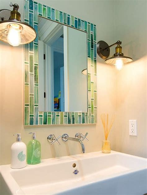 colorful bathroom mirrors mirrors outstanding colorful bathroom mirrors decorating