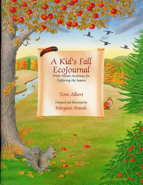 falling through the creek books a kid s fall ecojournal