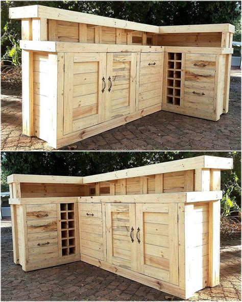 Small Wooden Home Bar Best 25 Pallet Bar Ideas On Diy Bar Outdoor