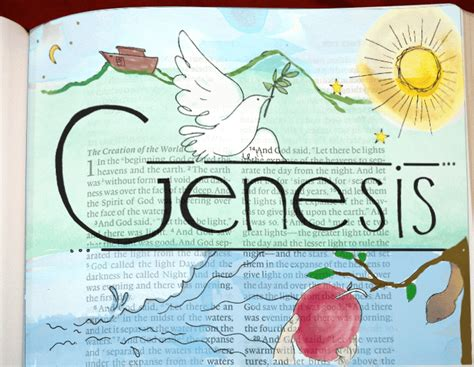 genesis pictures bible free bible coloring pages bible journal idea