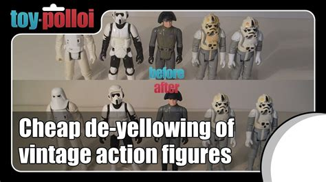 figure yellowing fix it guide cheap and easy de yellowing wars