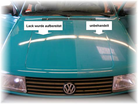 Verwitterten Autolack Polieren by Autopflegeservice J Blieher