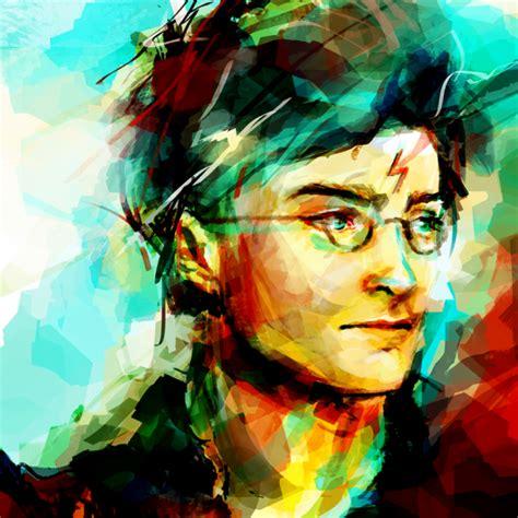 Harry Potter Amazing Paintings Digital Pics