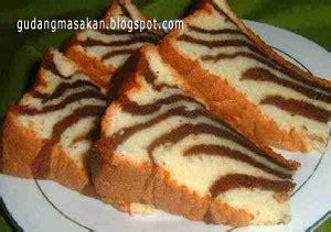 resep cara membuat roti zebra resep kue zebra gudang resep masakan