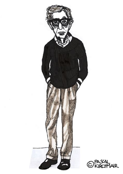 film cartoon with the voice of woody allen woody allen by pascal kirchmair famous people cartoon
