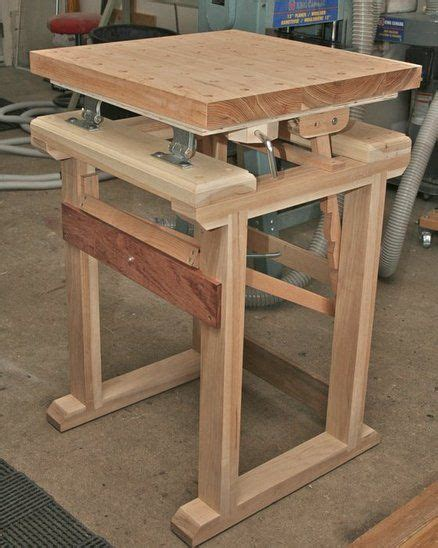 small woodworking bench plans carvers bench diy workbench arbejdsbord pinterest