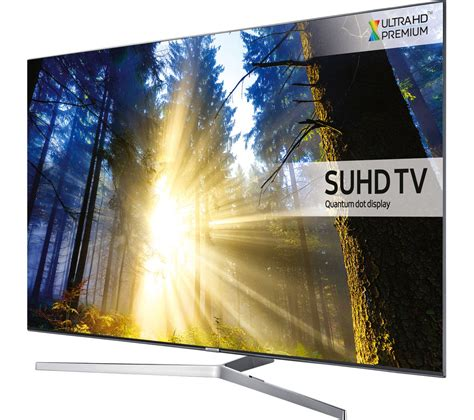 samsung 4k tv buy samsung ue75ks8000 smart 4k ultra hd hdr 75 quot led tv free delivery currys