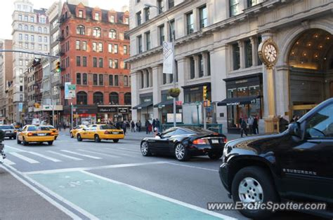 Aston Martin New York by Aston Martin Vanquish Spotted In New York New York On 01