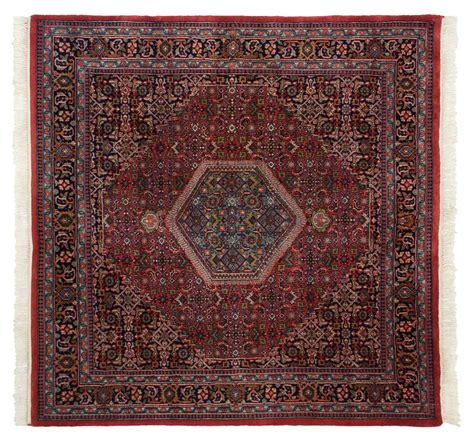 6 x 6 square rug 6 215 6 bijar square rug 036078 carpets by dilmaghani