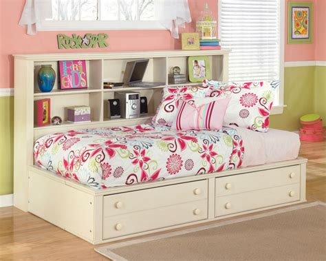 ashley furniture kids beds signature design by ashley cottage retreat cream storage