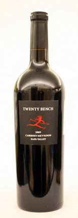 twenty bench wine twenty bench 2009 cabernet sauvignon is affordably elegant