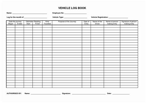 Mileage Log Book Inspirational Truck Driver Log Book Template Professional And High Quality Truck Log Book Template