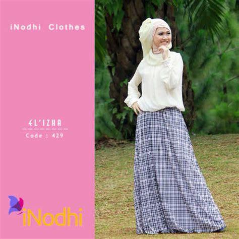 Tunik Tile Mayra by Model Busna Terbaru Wanita Gaun Pesta Muslim Pusat