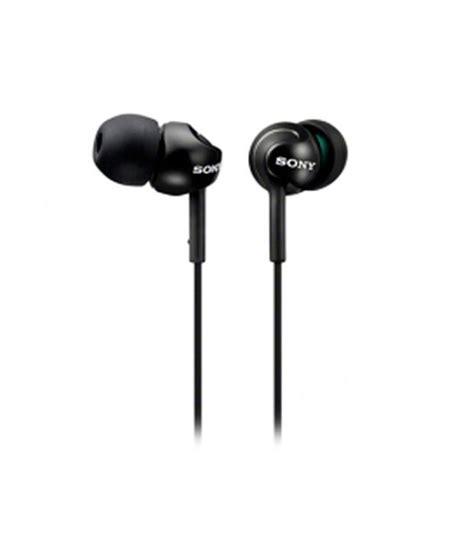 Headset Sony Mdr Ex 750 sony mdr ex110lp in ear earphones black without mic buy sony mdr ex110lp in ear earphones