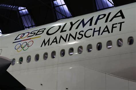 Lufthansa Schriftzug Aufkleber by Rio 2016 Lufthansa Spendiert Deutschen Olympioniken Auch