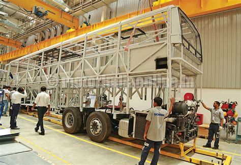 scania s production facility opened in india