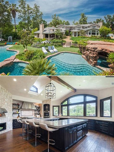 angelina jolie new home pics angelina jolie s hidden hills home inside lavish