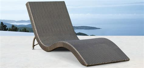 synthetic rattan outdoor furniture lounger synthetic rattan furniture