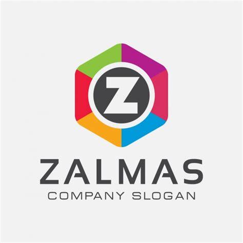 Z Logo colorful letter z logo vector free