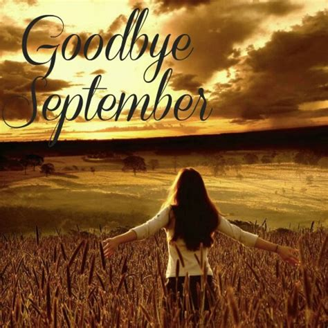 goodbye september pictures images   facebook  whatsapp pictures cafe