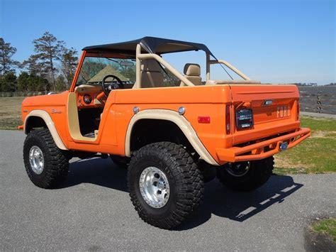 ford bronco 1970 1970 ford bronco custom suv 125690