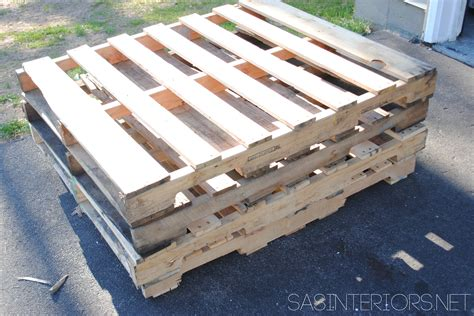 diy outdoor pallet sofa burger