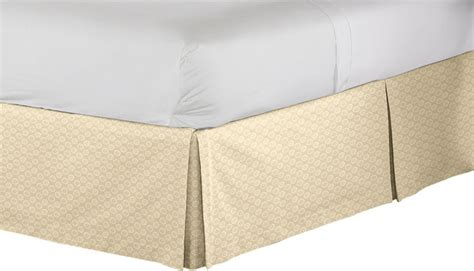 tan bed skirt tan white tailored bedskirt contemporary bedskirts