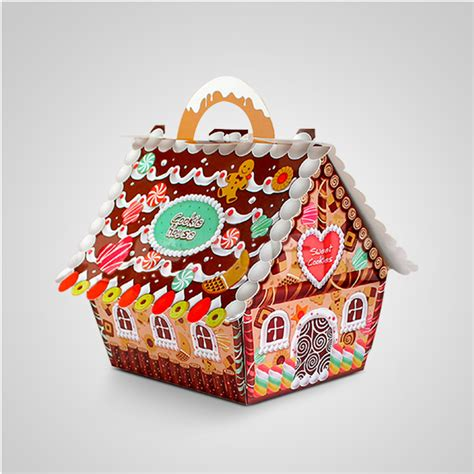 aliexpress com buy 50pcs small house candy boxes